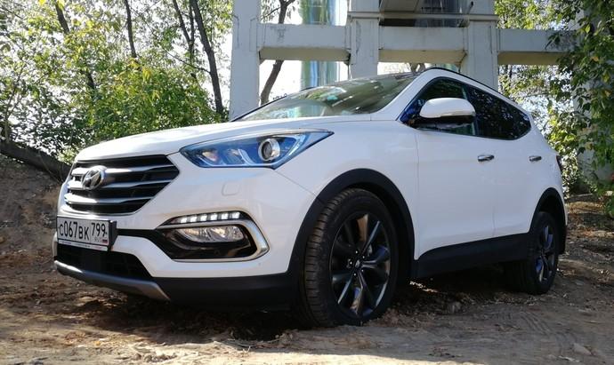 Hyundai Santa Fe: тест-драйв FashionTime.ru