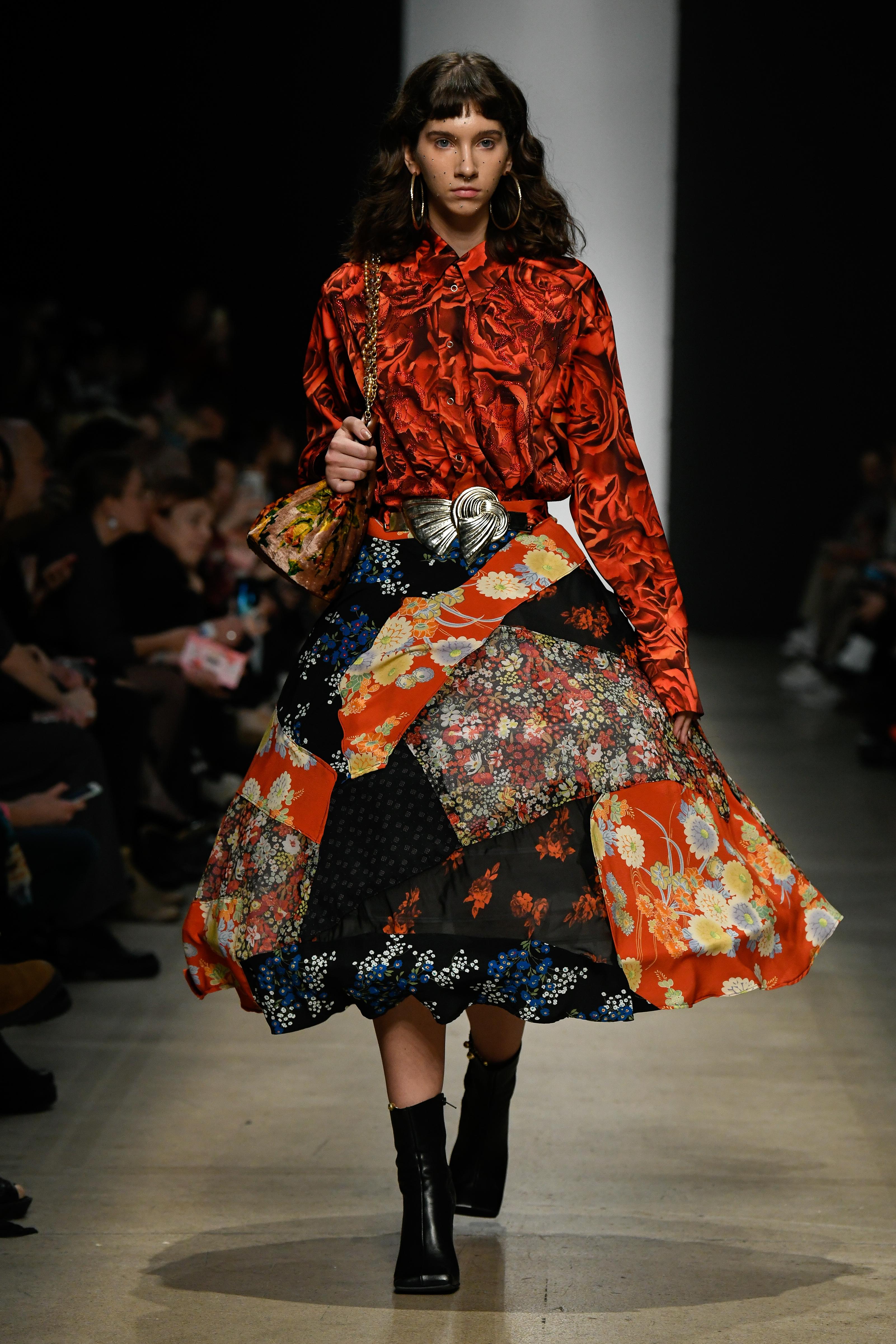 Фото: Mercedes-Benz Fashion Week Russia: Roma Uvarov Design весна-лето 2020