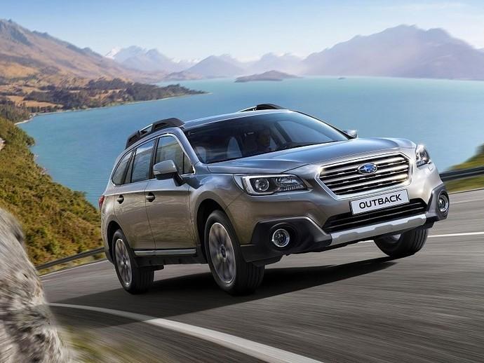 Subaru Outback: тест-драйв FashionTime.ru