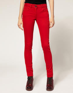 Купить яркие джинсы с высокой посадкой доставка россии (бренд