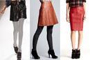 Первая вещь - это кожаные юбки или платья.  Дизайнеры в этом сезоне сделали ставку на кожу, и они не промахнулись.