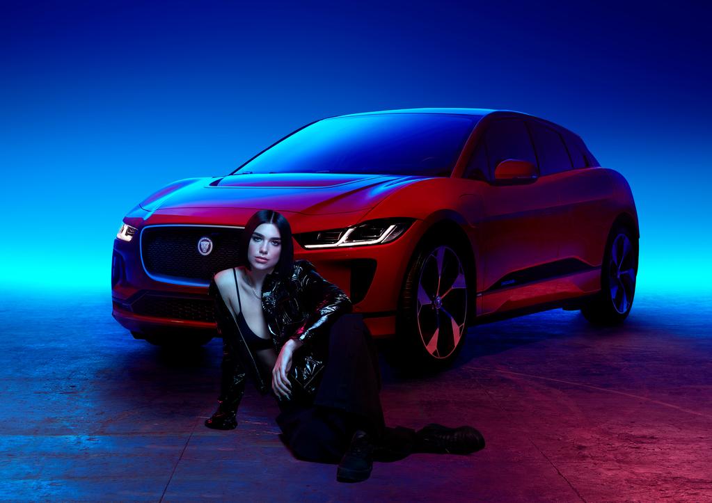 Фото: Дуа Липа cтала сотрудничать с Jaguar