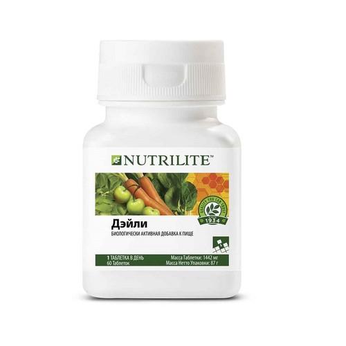 Почему вам нужен комплекс витаминов Nutrilite™ Дэйли