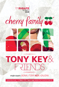��������� �Cherry Family�, �� ����� �������� � ����������� �������� � ������� � Pacha Moscow ����