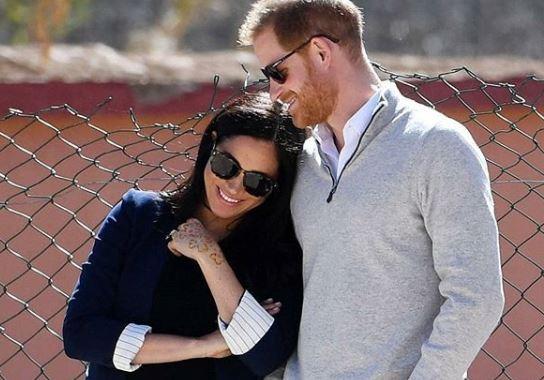 Фото: Меган Маркл и принц Гарри после родов уедут в Африку