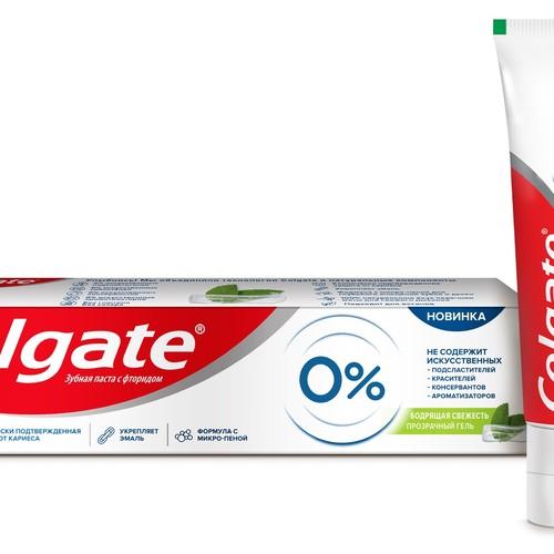 Colgate представляет зубную пасту без искусственных красителей, ароматизаторов и консервантов