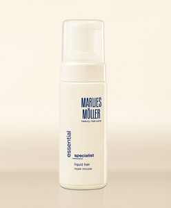 Тестируем восстанавливающий структуру волос мусс Essential Care Liquid Hair от Marlies Möller Фото