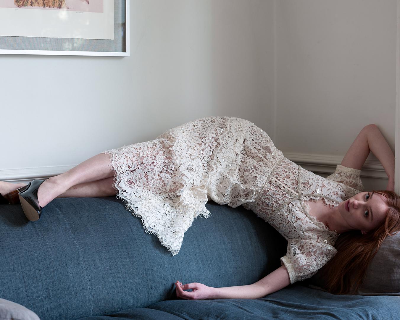 Звезда сериала «Бриджертоны» стала главной героиней весеннего кампейна Self-Portrait
