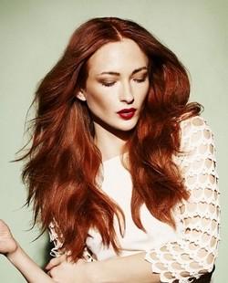 Шоколадно-медный цвет волос фото