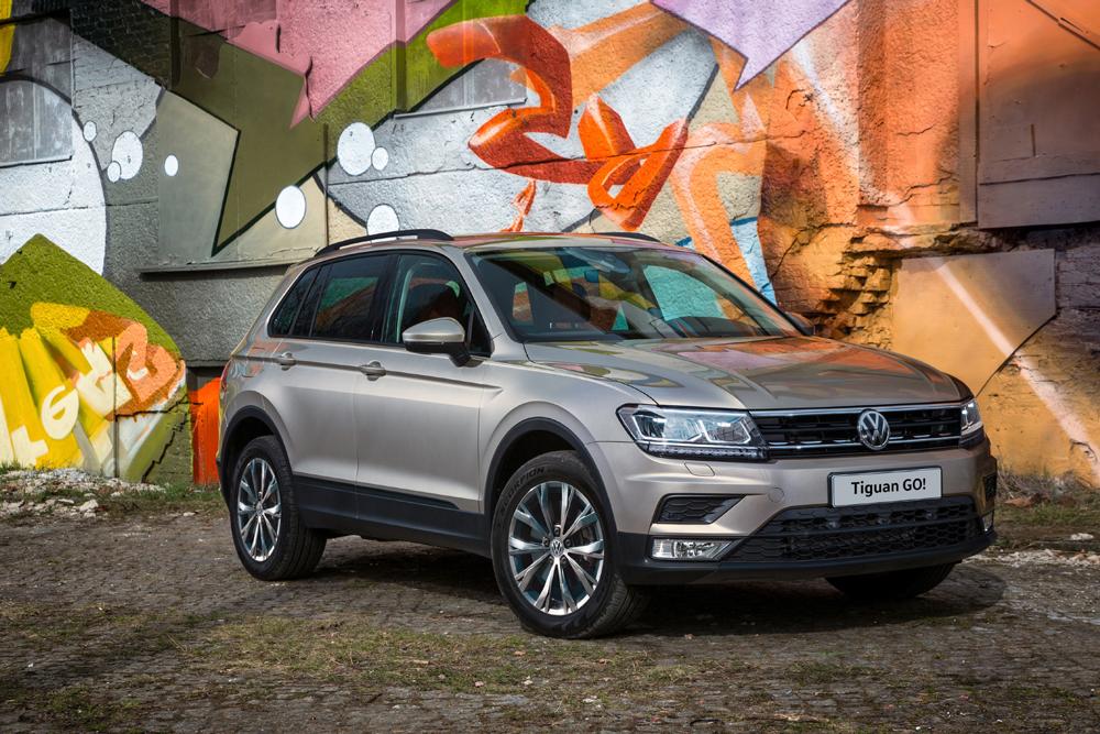 Volkswagen представляет специальную версию Tiguan GO