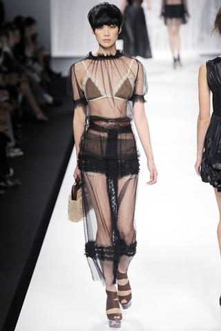 фасоны длинных платьев с рукавом