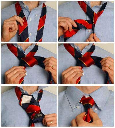 Наиболее простой и популярный узел.  Он подходит для тех, кто только учится...