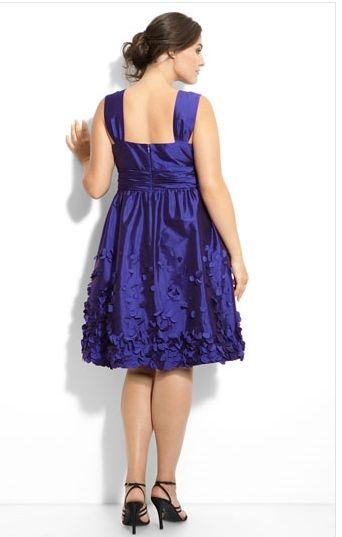 Платья и юбки для полных модные.  Daizilkree.  537 pxРазмер.