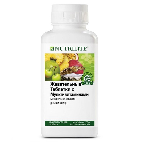 Как повысить иммунитет: жевательные таблетки с мультивитаминами Nutrilite™