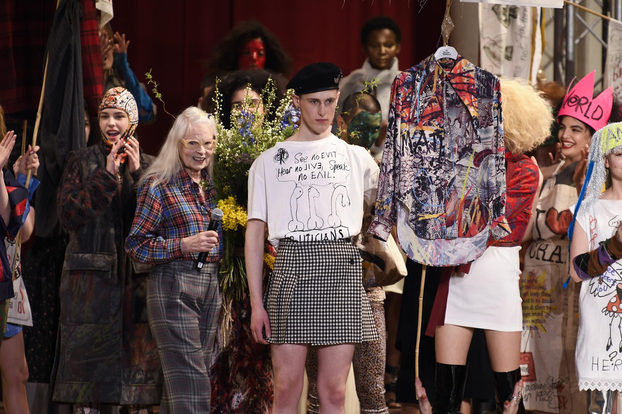 Фото: Неделя моды в Лондоне: Vivienne Westwood осень-зима 2019
