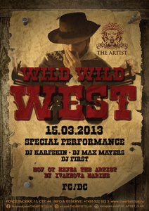 "��������� ""Wild Wild West"" � ""Party Non Stop"" � The Artist Club ����"