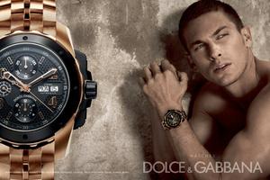 Марка Dolce&Gabbana запустила первую коллекцию мужских часов Фото