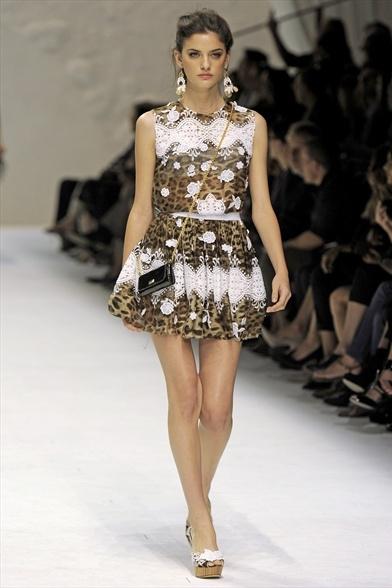 Dolce&Gabbana Spring/Summer 2011 на Миланской Неделе моды Фото