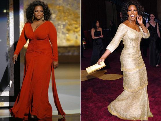 До и после диеты: