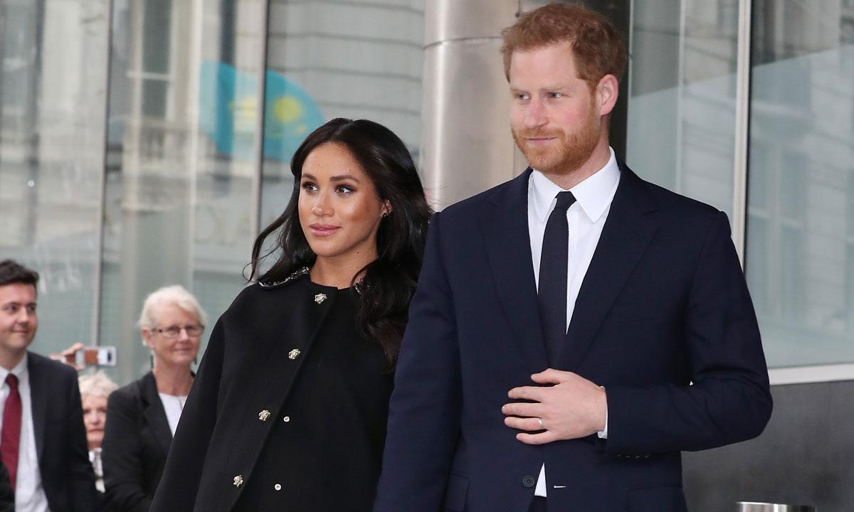 Фото: Меган Маркл и принц Гарри неожиданно посетили дом Новой Зеландии в Лондоне