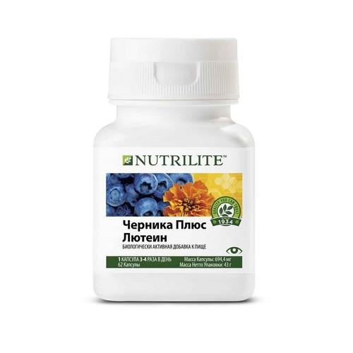 Сохраните зрение: Черника плюс лютеин Nutrilite™