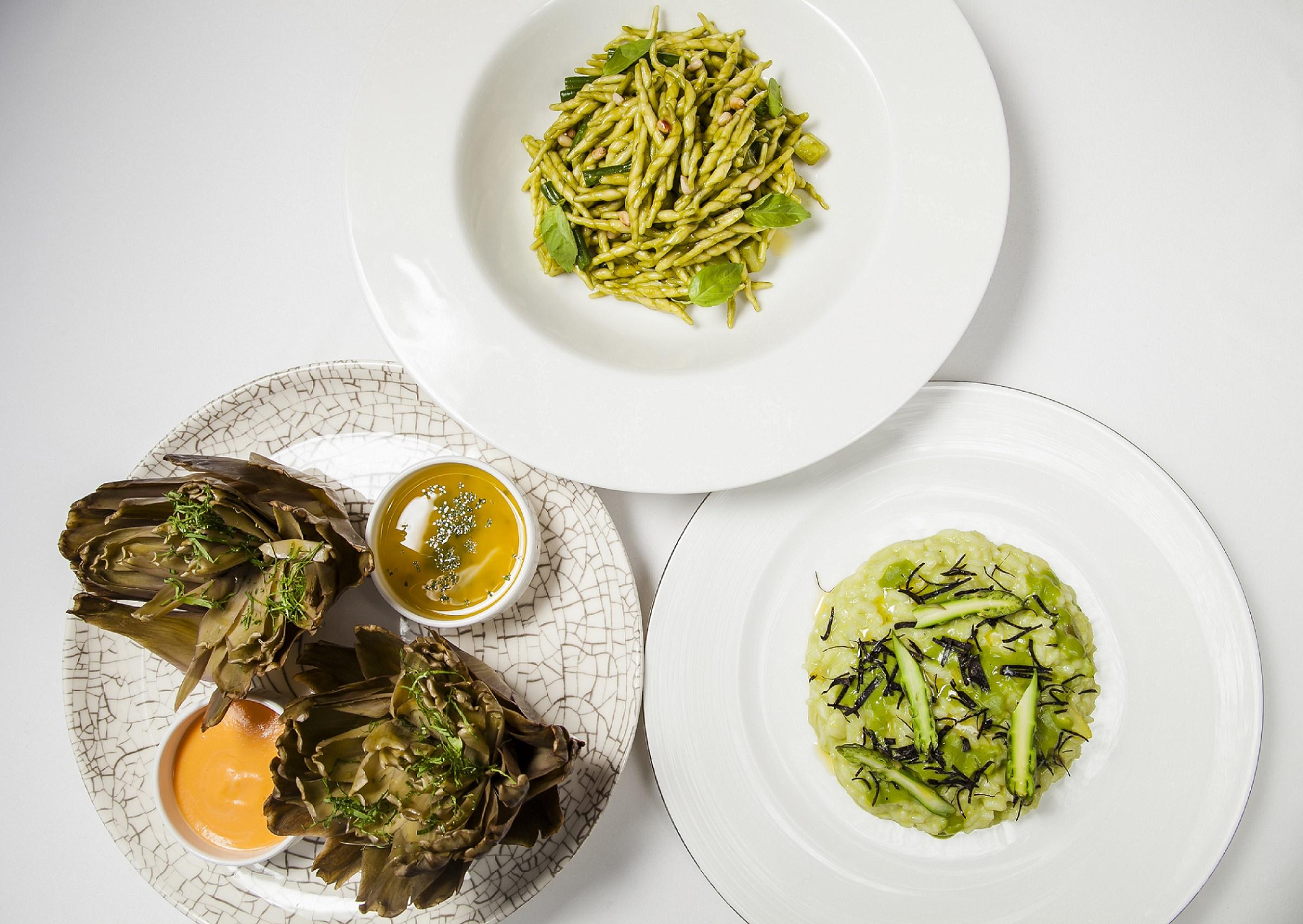 Фото: Постные блюда в ресторанах Москвы. Часть I