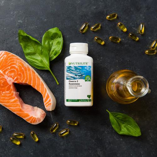 Зачем нужно принимать рыбий жир: Омега-3 Комплекс Nutrilite™