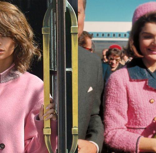 Эмили Ратаковски примерила на себя образ Жаклин Кеннеди