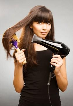 Укладка волос феном щеткой в домашних условиях