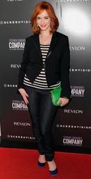 Мода для полных 2012 - стиль Кристины Хендрикс.