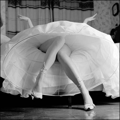 фото женская мода 50-х годов.