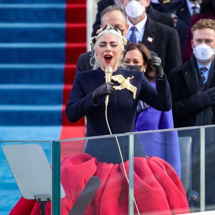 Фото: Дженнифер Лопес и Леди Гага спели для новоизбранного президента США