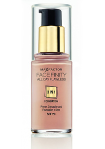 Max Factor, Facefinity All Day Flawless 3-in-1 Foundation SPF 20