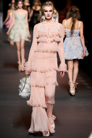 осень-зима 2012.  Christian Dior.  Темы публикации.