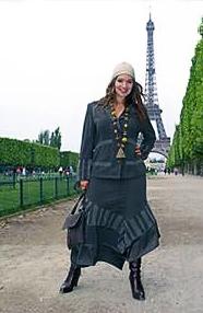 Мода для полных 2012 фото модная одежда