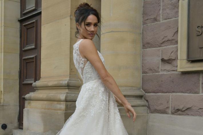 Фото: Свадебное платье Меган Маркл