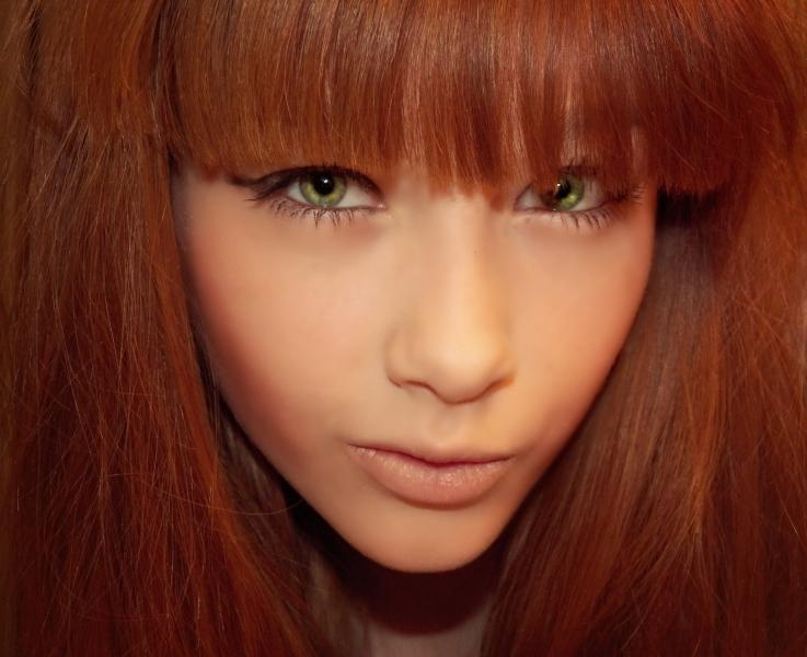 Темно рыжие волосы фото оттенки