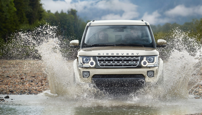 Land Rover Discovery: тест-драйв FashionTime.ru