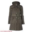 купить искусственный черный мех: вязаное пальто на меху.