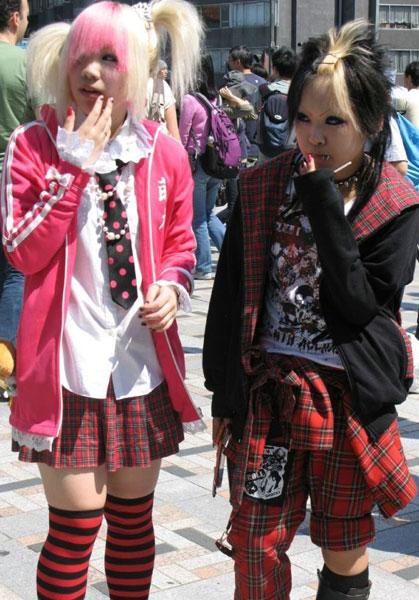 Как одевается японская молодежь (60 фото) - юмор