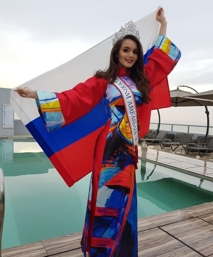 Россиянка выиграла конкурс World Miss Tourism Ambassador 2017