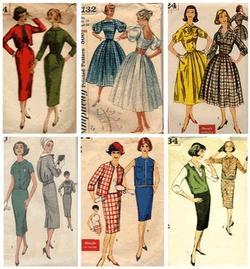 5ca98f0f25a До середины прошлого века основными потребителями моды были состоятельные  дамы за 35. Молодым барышням предлагался упрощенный вариант взрослого стиля.