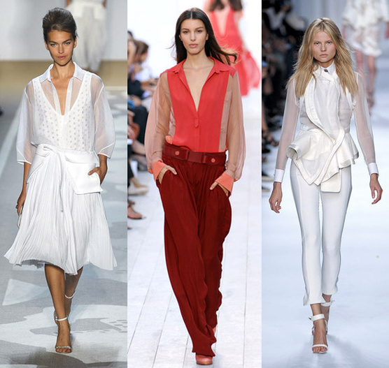 Модные Блузки 2012