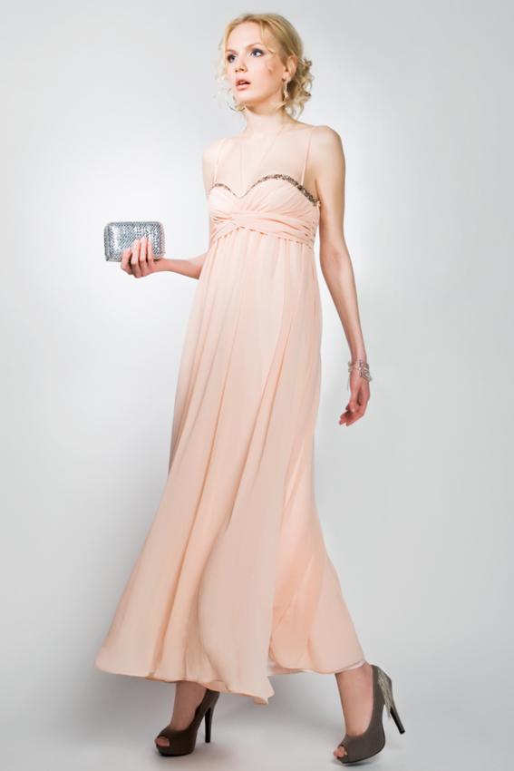 Коктейльное платье 2011 в стиле ампир.  Шикарно!